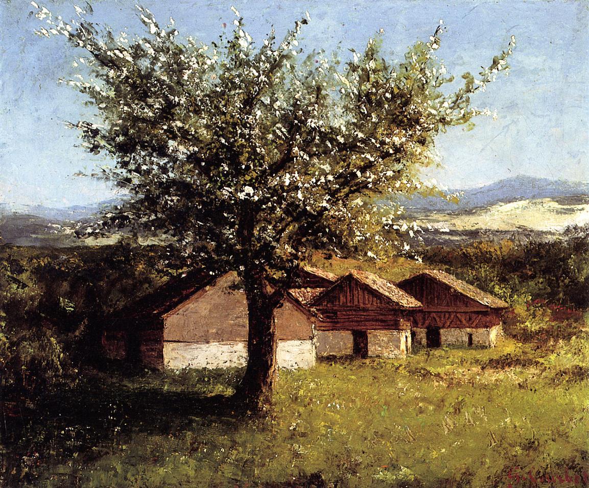 Peinture Française du 19ème Siècle: Gustave Courbet (1876)