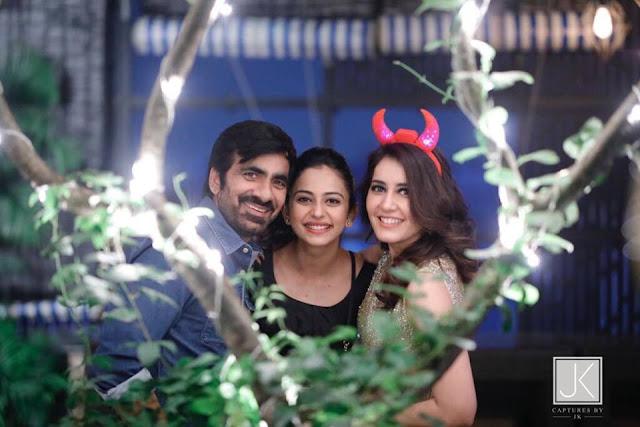 Actress Raashi Khanna Birthday Celebrations 2017