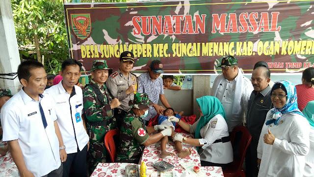 TNI Kuat Bersama Rakyat, Rakyat Sejahtera Bersama TNI