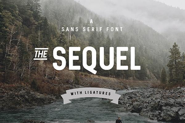 Download 22 Font Terbaru Gratis Edisi Mei 2016 - Sequel Font
