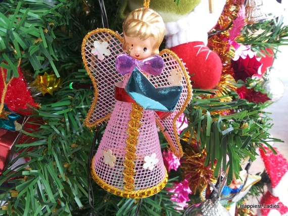 angel snowman christmas tree hangings ornaments