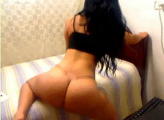 Kim Kardashians Nude Ass 91