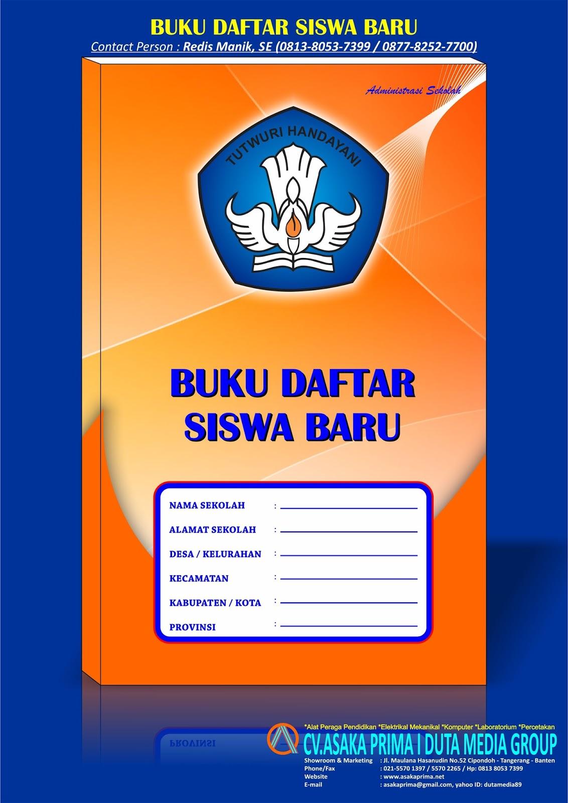 Daftar Harga Buku Administrasi Sekolah Paud Tk Sd Smp Sma Smk Tahun 2017 2018 Produsen Alat