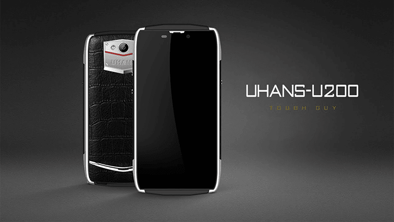 UHANS U200, A Rugged Yet Luxurious Looking 64 Bit LTE Phone Under USD 100 (4.6K Pesos)