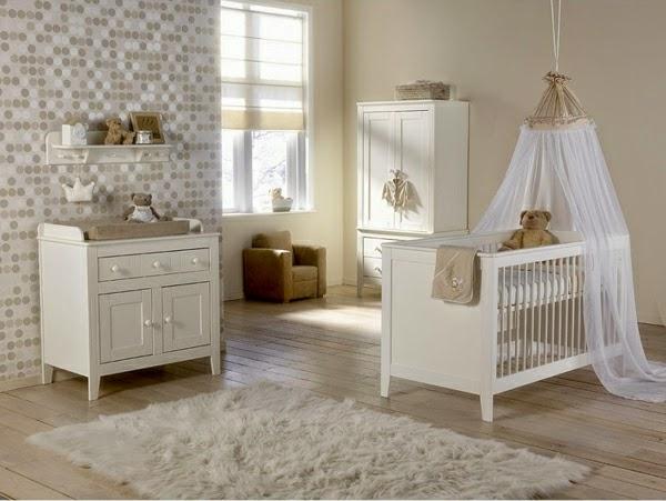 Dormitorios para beb s en colores neutros dormitorios - Colores habitaciones ninos ...