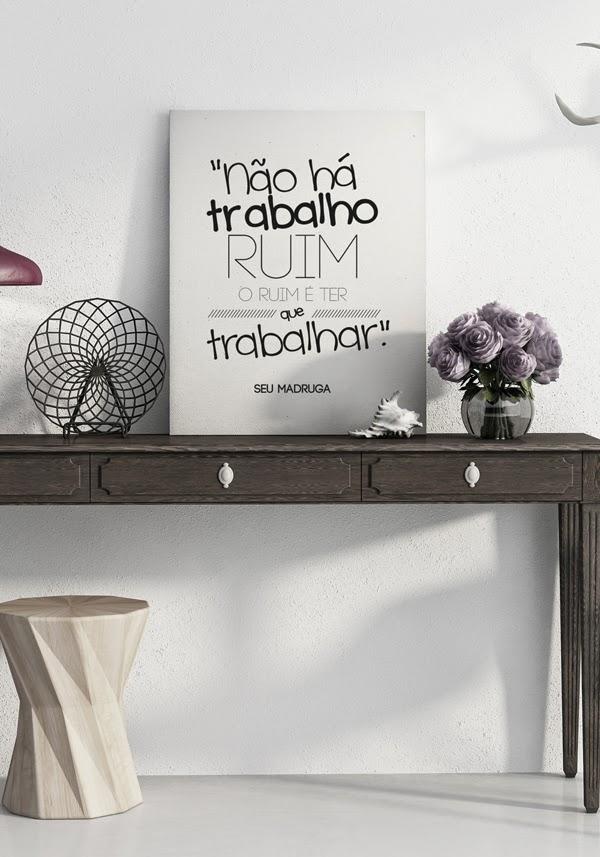 Frases do seriado Chaves para decorar a casa