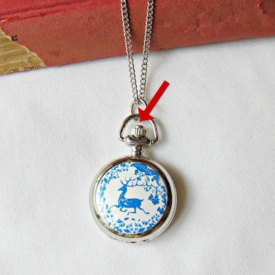 woodland deer pocketwatch necklace pocket watch two cheeky monkeys how to open a watch