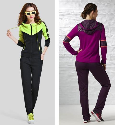 Baju Olahraga Wanita Lengan Panjang Adidas