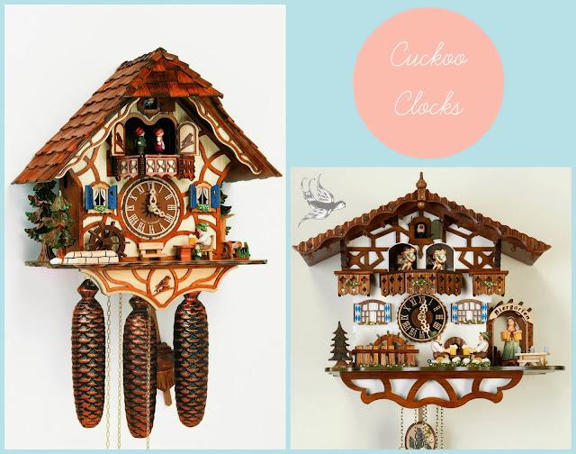 drewniany zegar