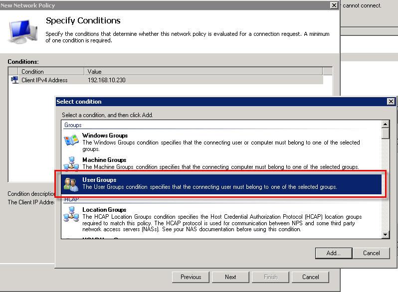 ThinGs-on-E: Cisco Nexus RADIUS authentication
