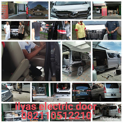 Service Motor Pintu Otomatis Toyota Alphard