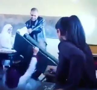 مديرية قلعة السراغنة تحقق في فيديو تعنيف تلميذتين من قبل إطار تربوي