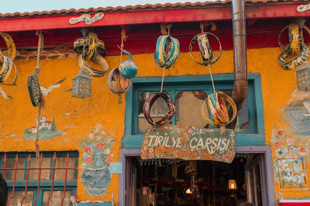 Tirilye Çarşısı, gezi rehberi