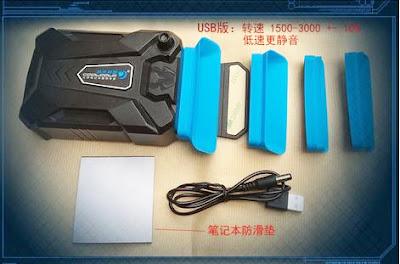 cooler exaustor para notebooks