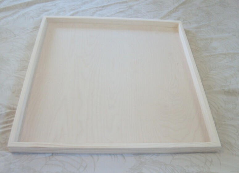 The 36 X Unfinished Square Straight Edge Ottoman Tray A Perfect Gift For Crafter In Your Family Add Own Unique Style By Painting