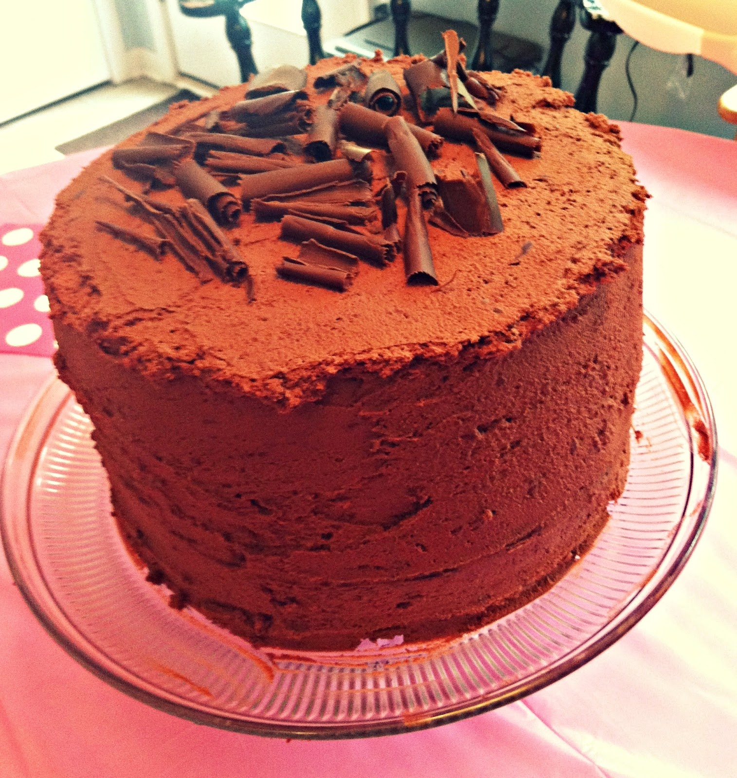 Rosy Lemmons Crafts Big Chocolate Cake Reveal