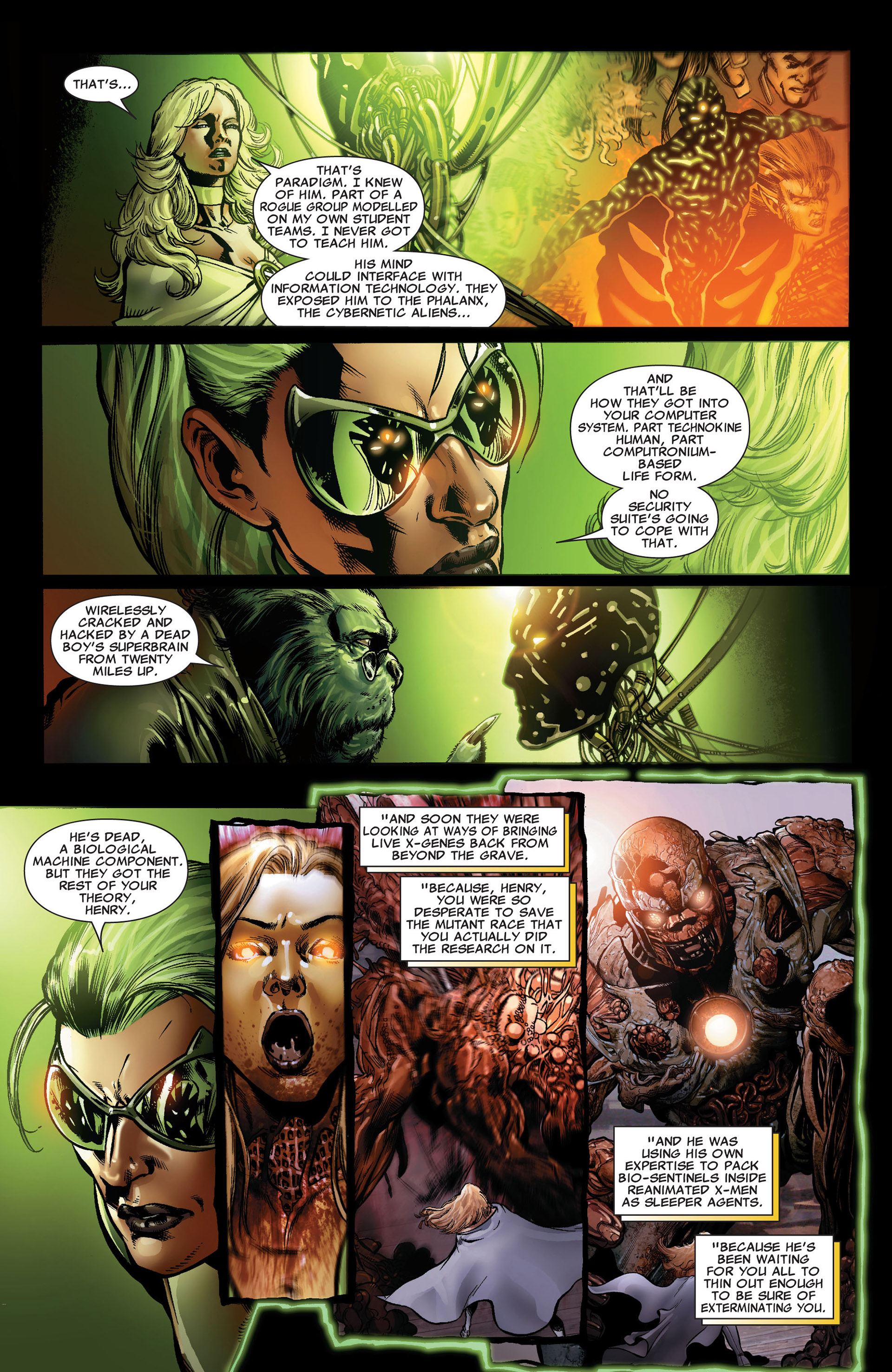 Read online Astonishing X-Men (2004) comic -  Issue #33 - 21