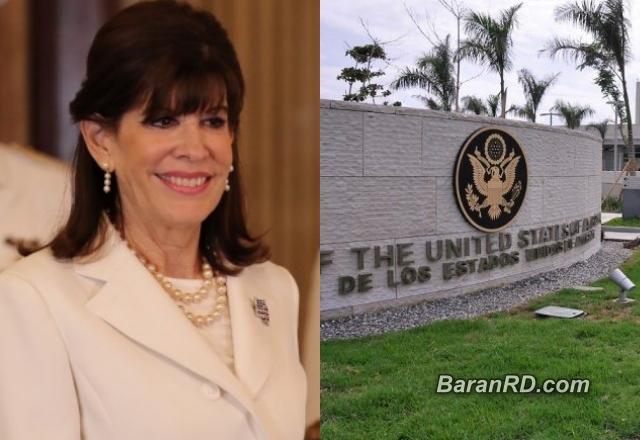 Robin Bernstein, embajadora EEUU en República Dominicana.