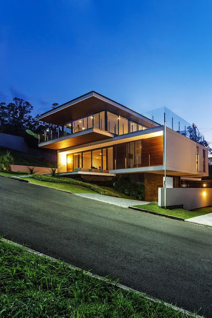 Ideas de fachadas modernas para la casa de tus sueños