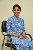 Sai Pallavi looks super cute in plain dress at her interview in Telugu about movie Fidaa ~ Exclusive Celebrities Galleries 003.JPG