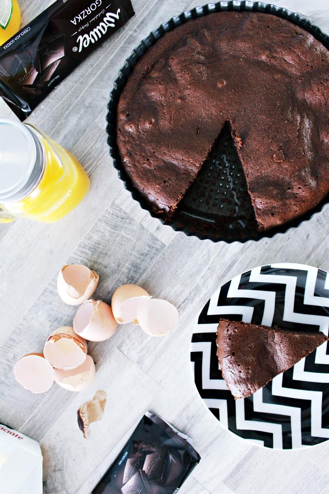 pyszne ciasto czekoladowe przepis