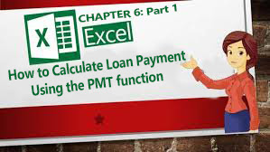 learn how to calculate loan amortization using the MS Excel's PMT function