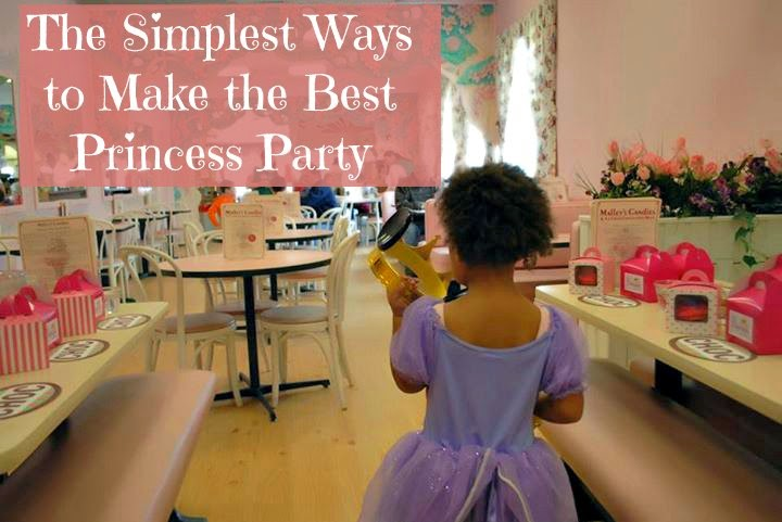 The Simplest Ways to Make the Best Princess Party {with free printables!}