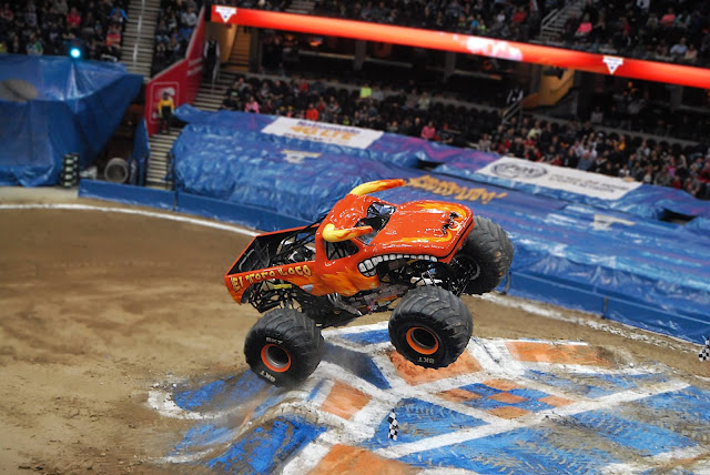 Monster Jam Triple Threat in CLE | El Toro Loco