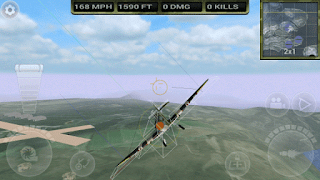 FighterWing 2 Flight Simulator 2.70 Apk+Data Mod Unlimited Money Terbaru