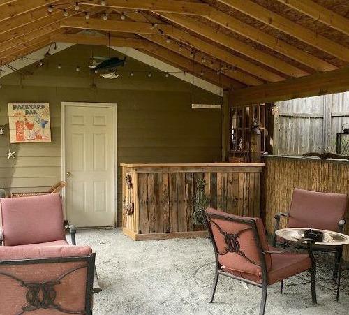 Beach  Tiki Bar Ideas for the Home  Backyard  Coastal Decor Ideas Interior Design DIY Shopping
