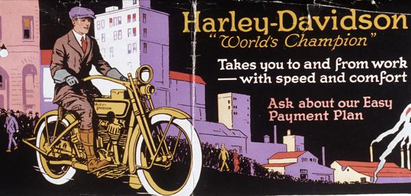 Harley Davidson Advertising: Harley-Davidson Advertising 1920's