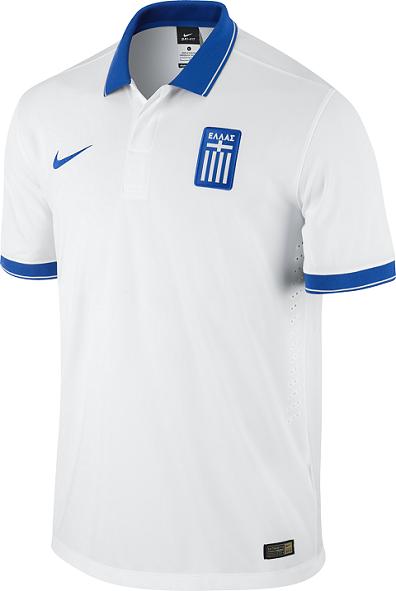 Nike lança camisas da Grécia para a Copa do Mundo - Show de Camisas f59268f26de1f