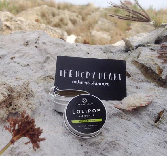 [Review] The Body Heart-Raw Honey Soap and Lolipop Lip Scrub