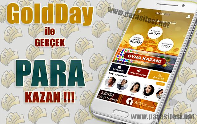 goldday para kazanma, goldday nedir, goldday uygulaması, gold day