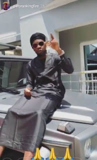 Patoranking gets himself a brand new Porsche