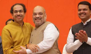 bjp-shiv-sena-declares-alliance-in-assembly-and-parliament-election