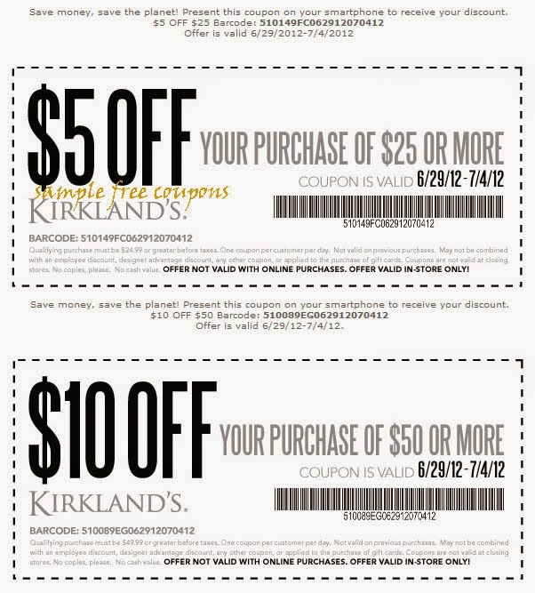 photo about Kirklands Printable Coupons Mommy Saves Big titled Kirklands discount codes july 2018 - Partners coupon codes for him printable