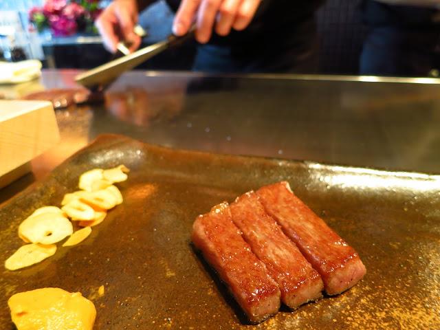 A5 Kobe Beef in Kobe ishida restaurant. Tokyo Consult. TokyoConsult.