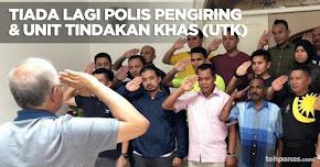 Thumbnail image for Tiada Lagi Polis Pengiring & Unit Tindakan Khas (UTK) Untuk Najib