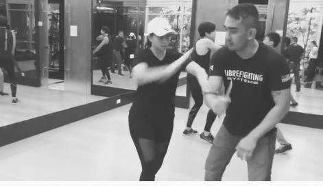 Angel Locsin Masters The Art Of Using A Dagger!