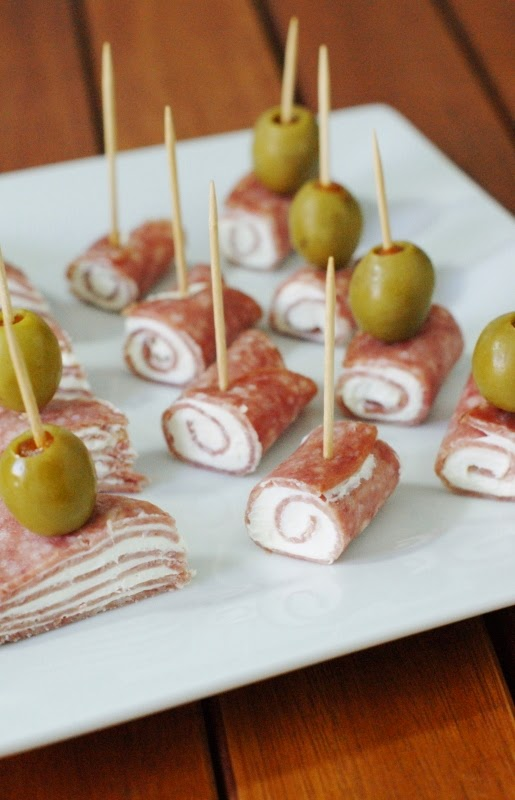 Quick Salami Amp Cream Cheese Bites The Kitchen Is My
