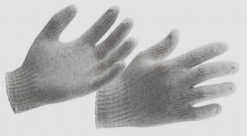 COTTON GLOVES - COTTON KNITTED GLOVES