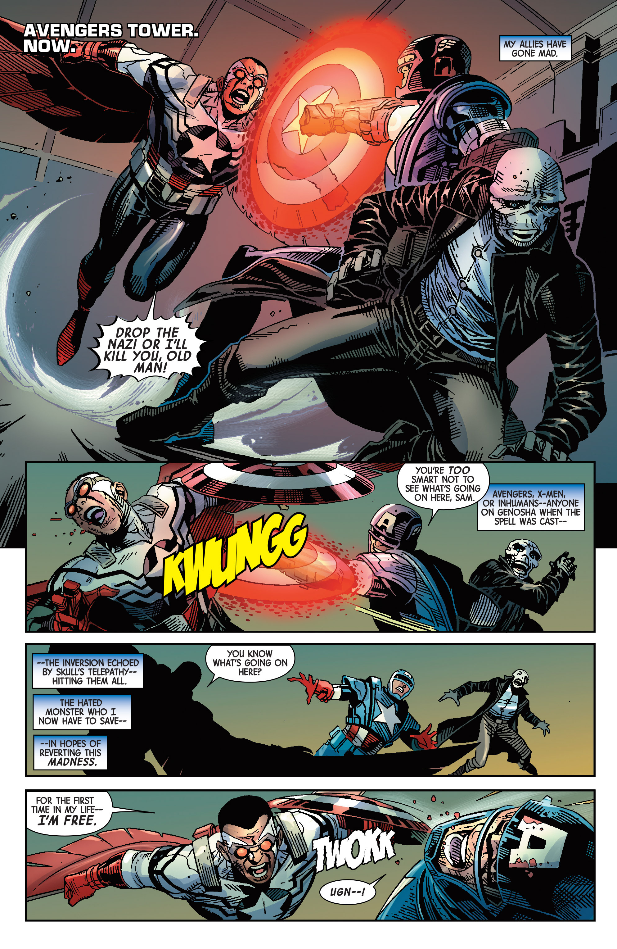 Read online Avengers & X-Men: AXIS comic -  Issue #9 - 6