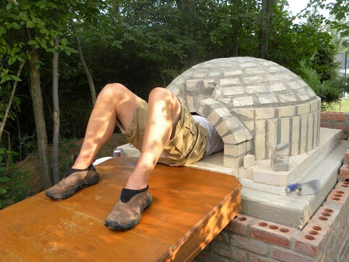 Diy Outside Pizza Oven Damn Cool Pictures