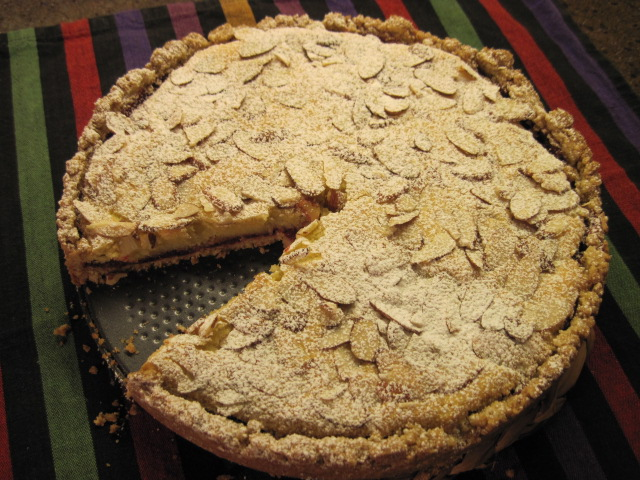 Almond Raspberry Coffee Cake, Torta, Santa Maria
