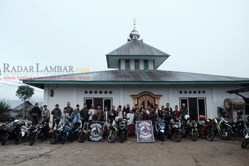 'Bikers Subuhan' Lampung Barat, Menjaga NKRI dan Tradisi