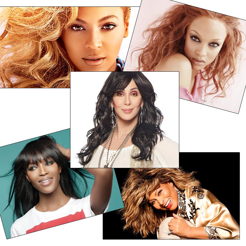 Celebridades que usam peruca