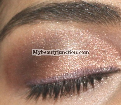 EOTD: Brown-grey neutral smoky eye makeup look with Urban Decay N@ked 3