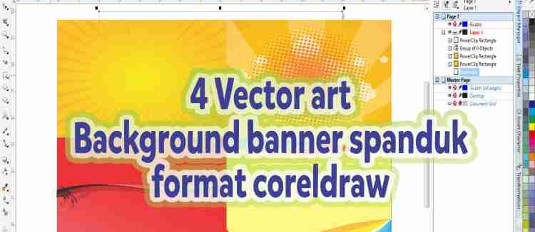 4 Vector art background banner spanduk format coreldraw .jpg
