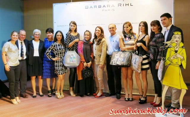 Barbara Rihl Spring Summer 2014 Handbags Collection, Barbara Rihl, Spring Summer 2014, Handbags Collection, Malaysia Airports Niaga, KLIA2, Barbara Rihl in Malaysia